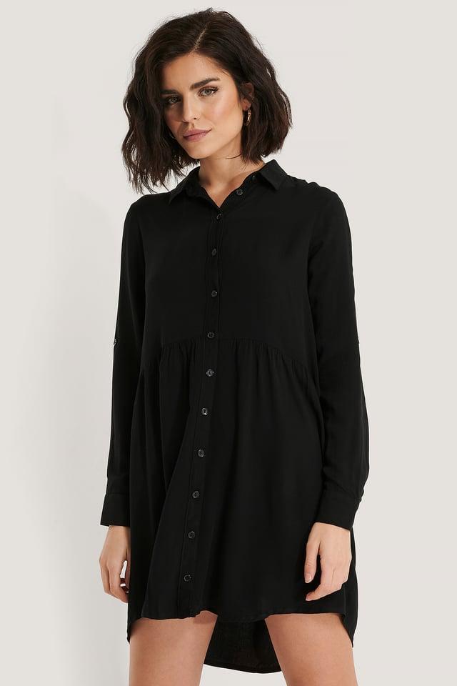 Hemdkleid Black