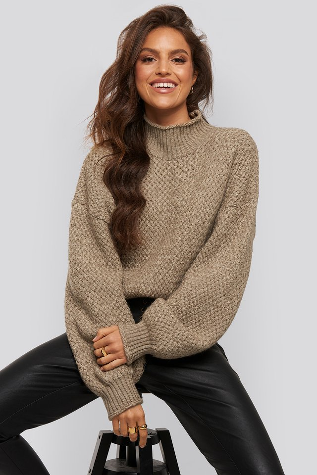 Luke Sweater Light Beige