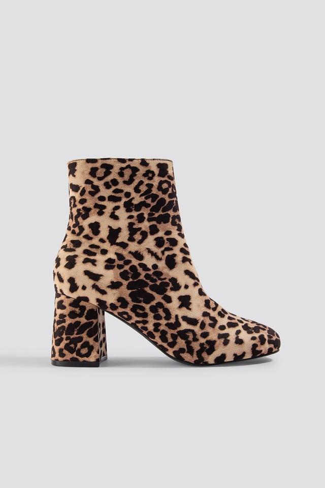 Rebecca Leopard Boot Leopard